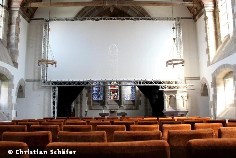 Kirche in Hundelshausen ist gestartet!