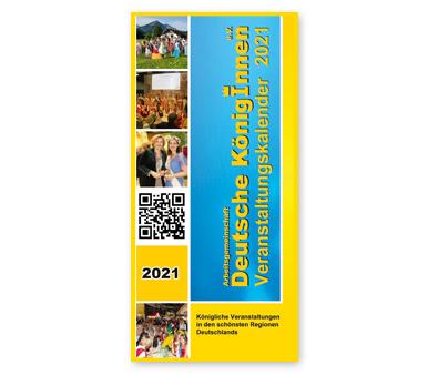 Deutsche Königinnen - Veranstaltungskalender 2021