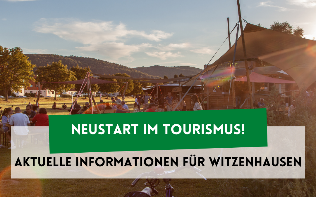 Neustart im Tourismus!
