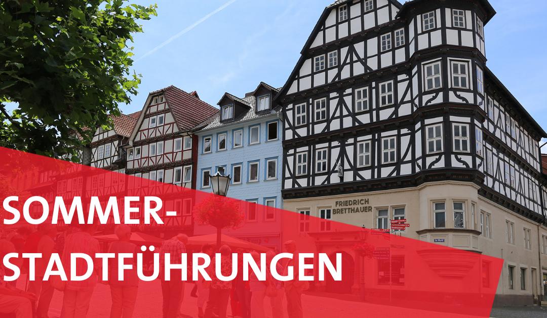 Sommerstadtführungen 2021 in Witzenhausen